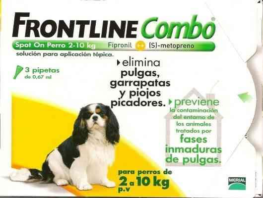 frontline combo mascotas