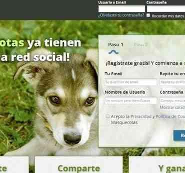 Masquecotas.com, otra red social para mascotas