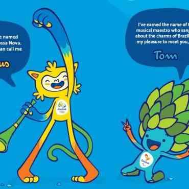 Las mascotas de Río 2016 ya tienen sus nombres oficiales