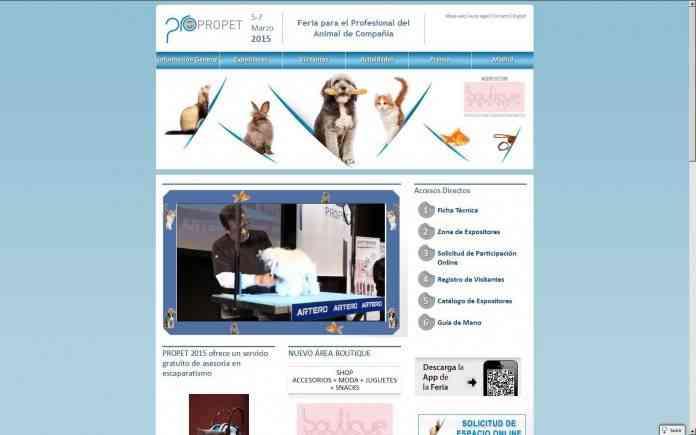 Feria de las mascotas PROPET 2015