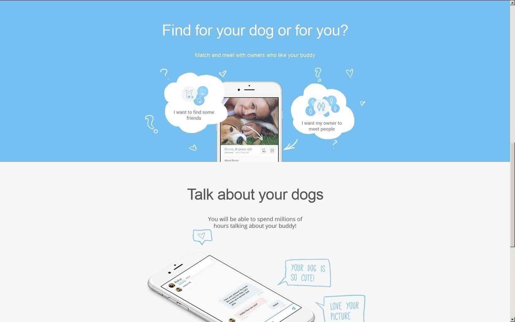 Tu mascota ya podrá mirar fotos y hacer match con otros caninos desde la comodidad del sofá.