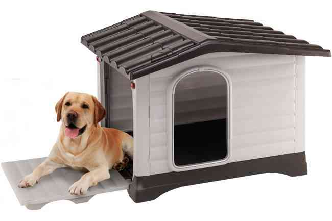 proteger a las mascotas del frío - casetas para mascotas