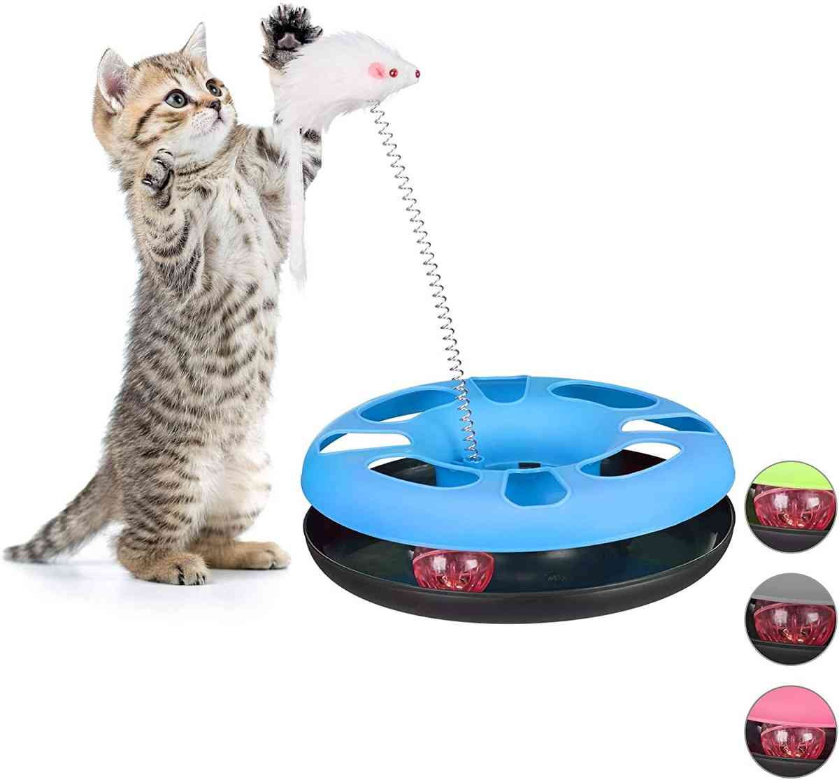 Los mejores juguetes para gatos que puedes comprar o hacer